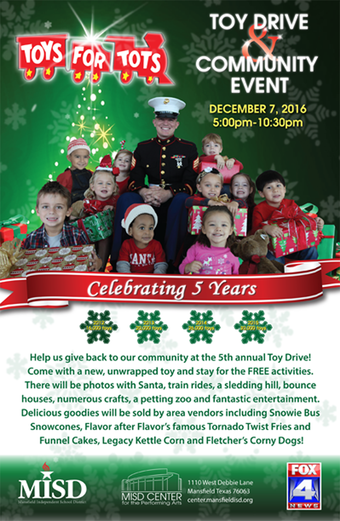 Toys For Tots Mission Statement : Toys for tots toy collection at carol holt elementary